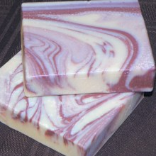 Marble Swirled Soap Technique